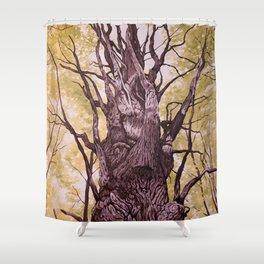 Gatineau Oak Shower Curtain