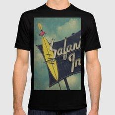 Safari Inn, Burbank, CA.  Mens Fitted Tee X-LARGE Black