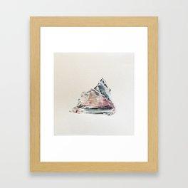 Algae and Ice  Framed Art Print