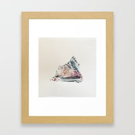 Algae and Ice  Framed Art Print