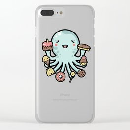Room for Dessert? Clear iPhone Case