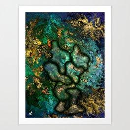 Copper worker by rafi talby Art Print