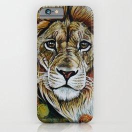 Beauty Lion iPhone Case