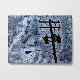 It Looked Like Rain Metal Print