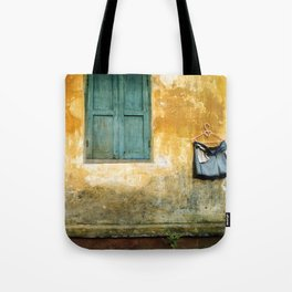 Asian Laundry Day of Hoi An - Vietnam Tote Bag