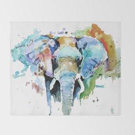Animal painting Throw Blanket