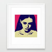 anxiety Framed Art Prints featuring Anxiety by Giuseppe Cristiano