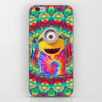 minion iPhone & iPod Skins featuring Minion by DisPrints