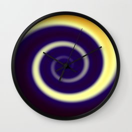 Colors Swirl Wall Clock