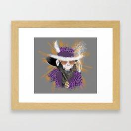 Pimp-Panzee Framed Art Print