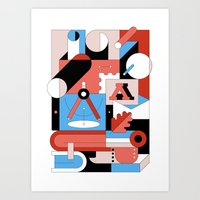 Creative Engineering Art Print