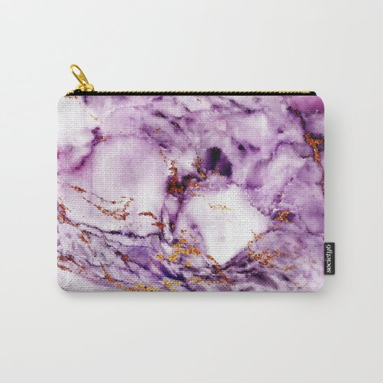 Marble Effect #2 Carry-All Pouch