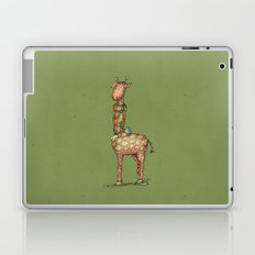Cleo - green Laptop & iPad Skin