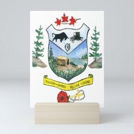Oxford Crest Mini Art Print