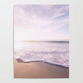 Sea Pastel Beach Tropical Poster