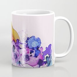 purple peace Coffee Mug