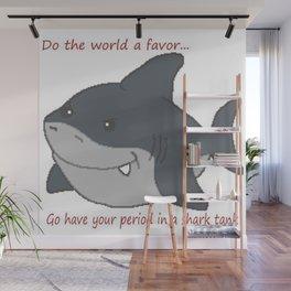 Hungry Shark Wall Mural