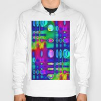 techno Hoodies featuring TECHNO-SPOTZ by David  Gough