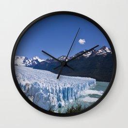Perito Moreno #2 Wall Clock