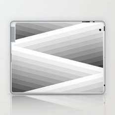 Grey Stripes Laptop & iPad Skin