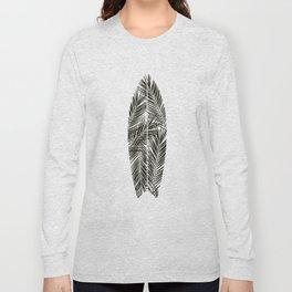 SURFBOARD print Long Sleeve T-shirt