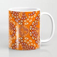 Geometric imitating floral Mug