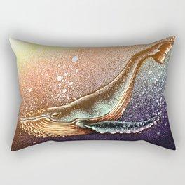 the big whale Rectangular Pillow