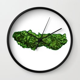 Beautiful Buds Wall Clock