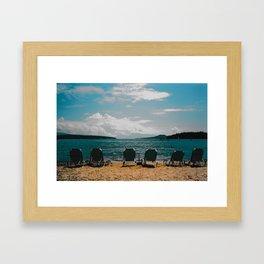 Lefkas I Framed Art Print