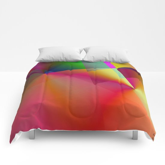 """"""" The color creates the emotion and lets spring the spark of the creation. """" Comforters"""