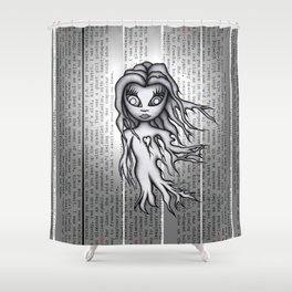 Ghost Zero Shower Curtain