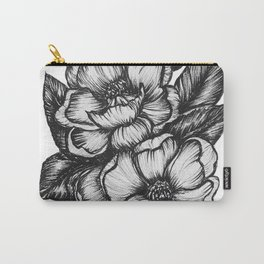 Magnolia Ink Drawing Carry-All Pouch