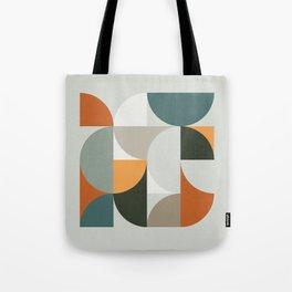 Mid Century Geometric 12 Tote Bag