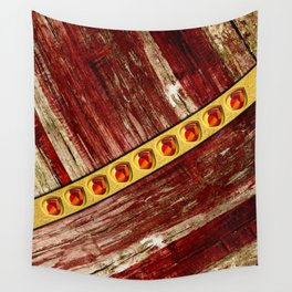 Wood and jewels Wall Tapestry