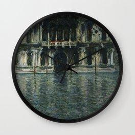 Claude Monet - Contarini Palace  Venice 1908 Wall Clock