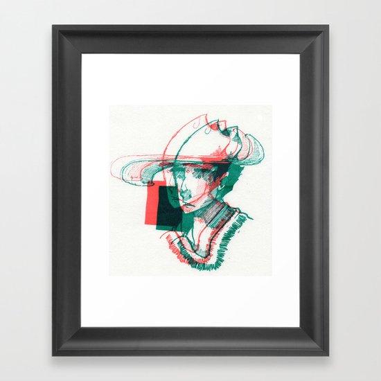 2D3D Framed Art Print