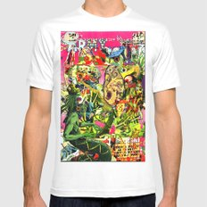 snake shaman rendezview White Mens Fitted Tee SMALL