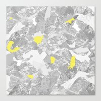 maps Canvas Prints featuring Maps. by valennelav