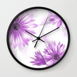 Watercolor Gerbera IV Wall Clock
