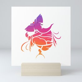 Lord Ganesha Pride Mini Art Print