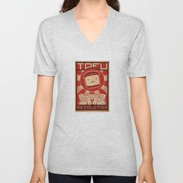 Tofu Revolution Unisex V-Neck