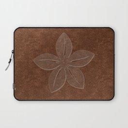 Cute Sheer Jasmin Flower Laptop Sleeve