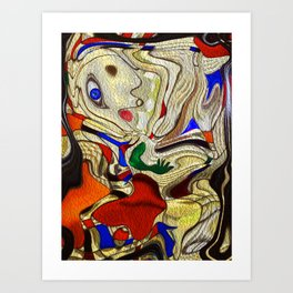 PICASSO'S  DAUGHTER Art Print