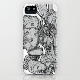 HUXLEY Drawing iPhone Case