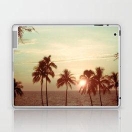 Sunset at Mauna Kea Beach, Hawaii Mint Laptop & iPad Skin