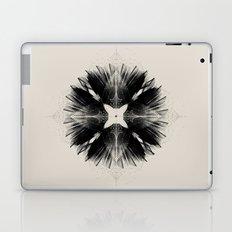 Black Flower Laptop & iPad Skin
