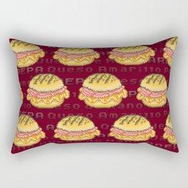 Arepa Power Up Rectangular Pillow