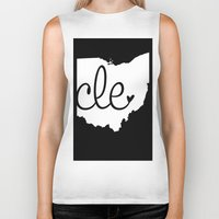 cleveland Biker Tanks featuring Love Cleveland by anastasia5