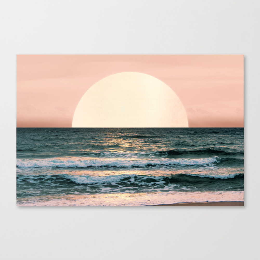 Summer Sunset Canvas Print by Cascadia