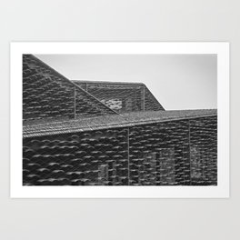 Roofs of Kengo Kuma 3 Art Print
